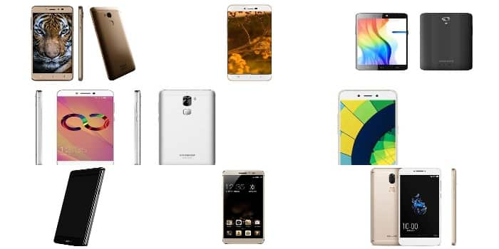 Get The Authentic List On Top 10 Coolpad Smartphones