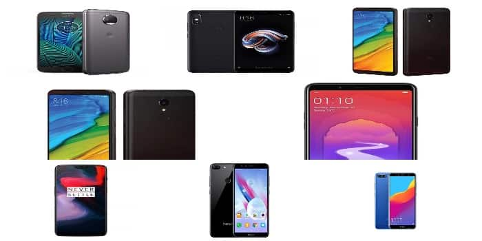 List Of 10 Best Selling Smartphones of India According to Online Giants