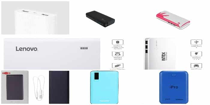 Get the List of Top 10 Power Banks In India With Features To Rock